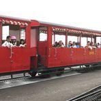 Brienzer Rothornbahn: sauber getrennt...