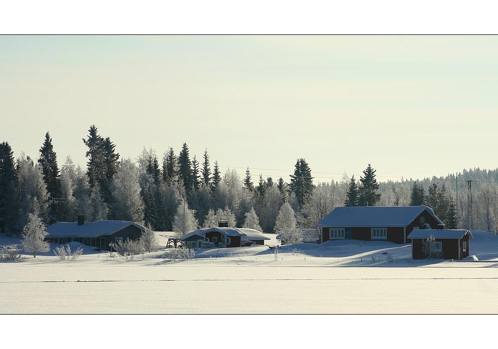 Bright white Lapland