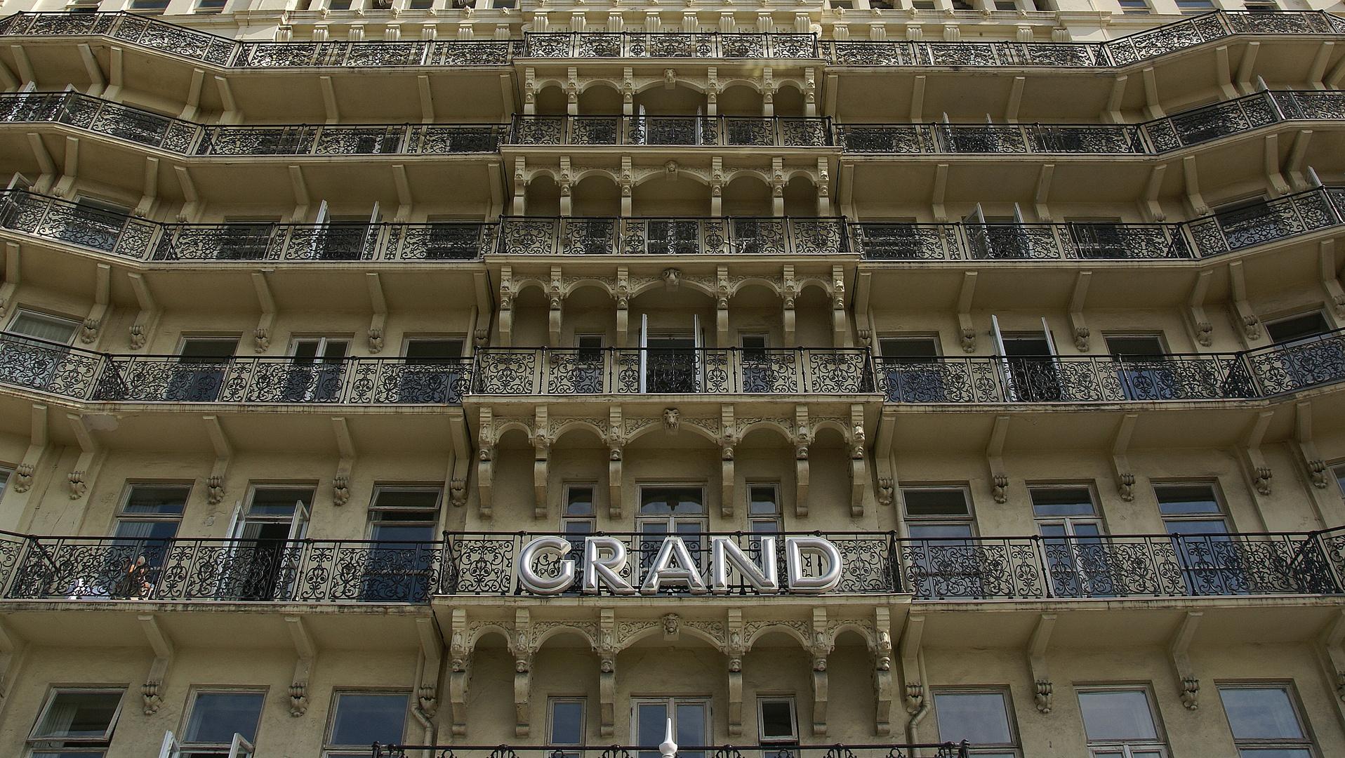 Brighton Grand Hotel Foto Bild Europe United Kingdom Ireland England Bilder Auf Fotocommunity