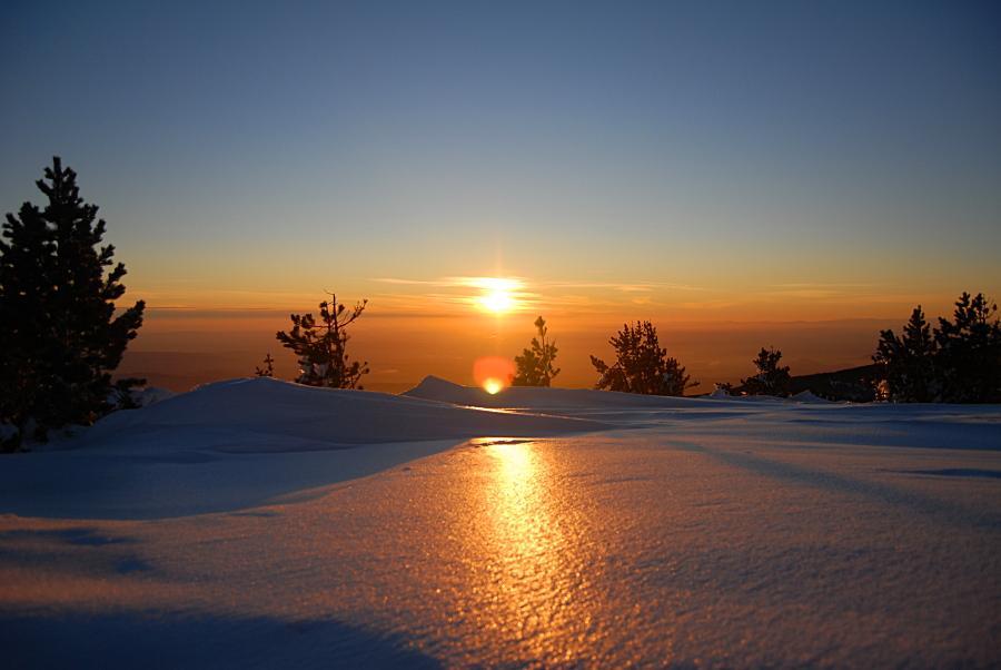 brillance neigeuse