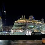 Brilliance of the seas in Dock 17