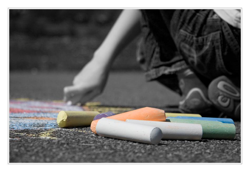 Bring Farbe ins Leben