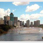 Brisbane mit Brisbane River