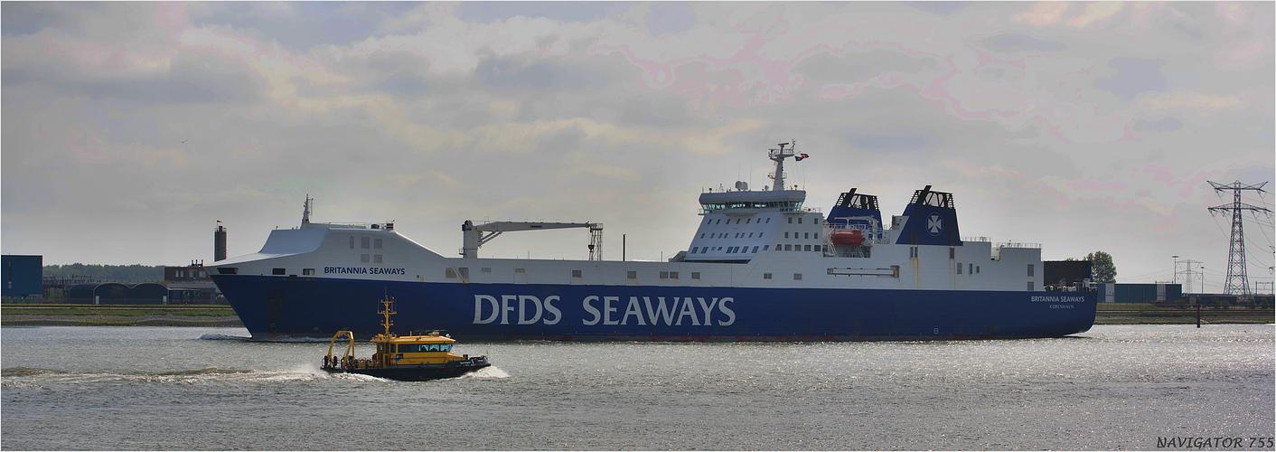 BRITANNIA SEAWAYS /  RO-RO CARGO