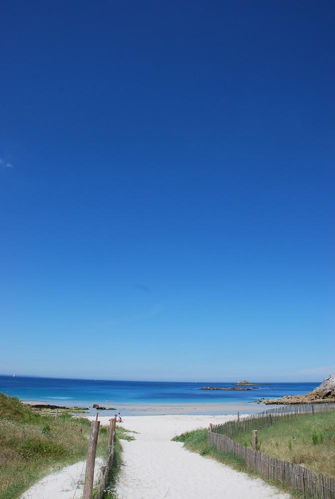 britanny seashore
