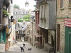 Brittany, Dinan, Old Town