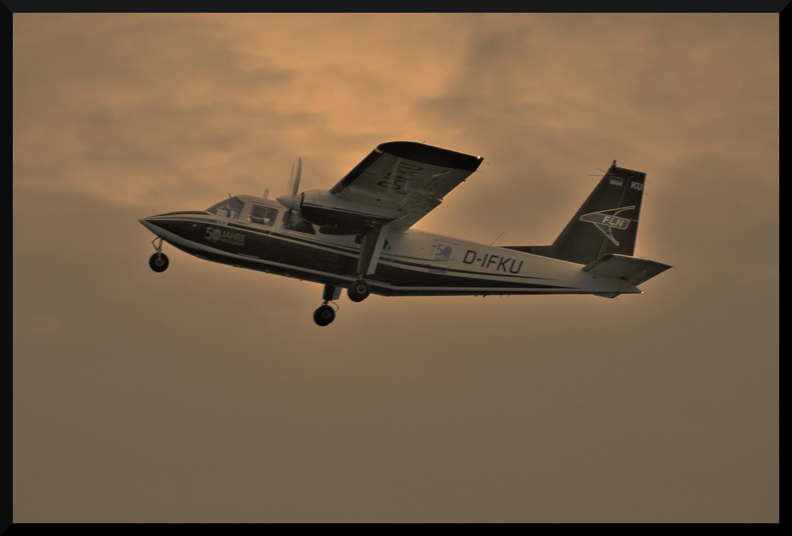 Britten-Norman BN-2A Islander D-IFKU Start Teil II