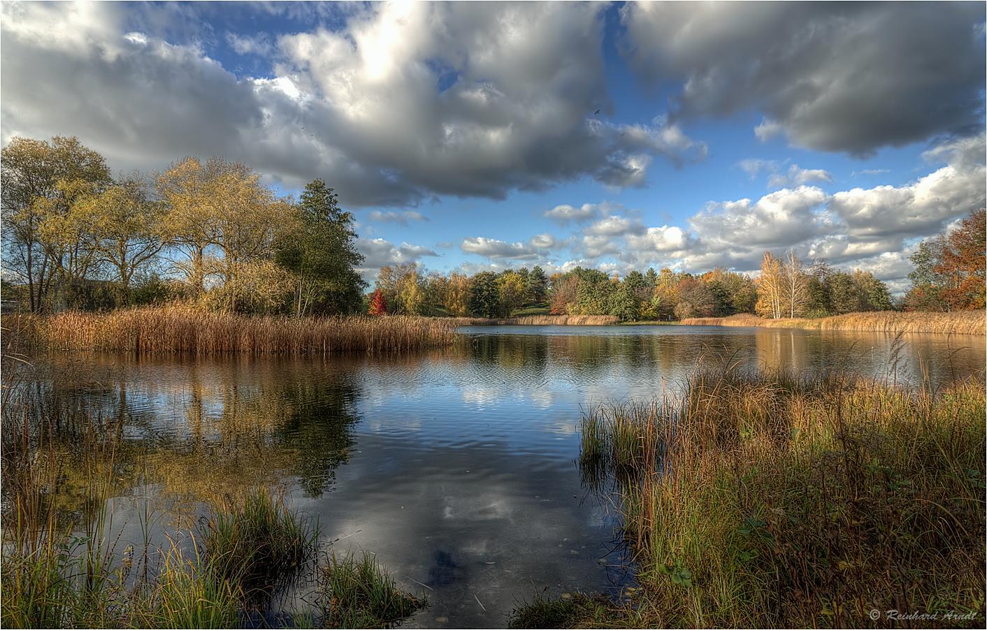 Britzer Garten im Herbst