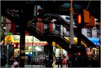 Broadway Stairs to Marcy Avenue Subway Station