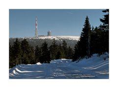 """Brocken - Harz """" Blick zum Gipfel, am Frühen Morgen """""""
