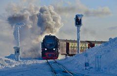 Brockenbahn-Ankunft