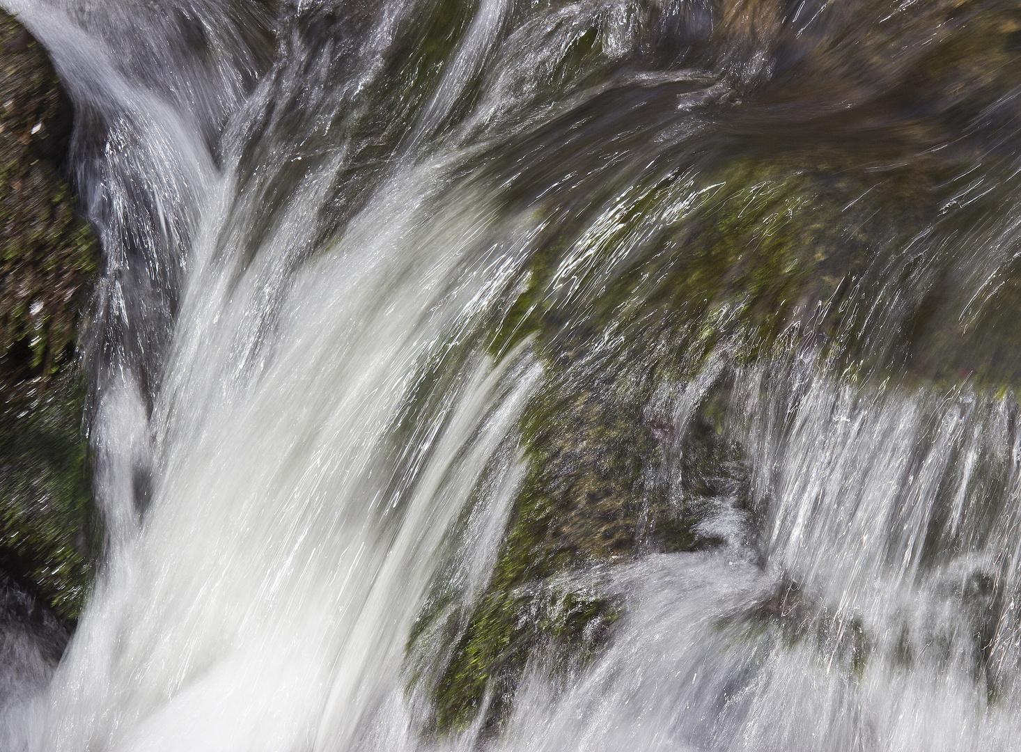 brodelndes Wasser