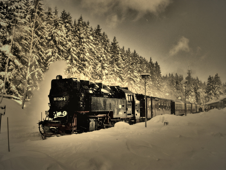Brokenbahn im Winter
