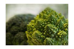 Brokkoli und Romanesco