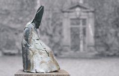 Bronzeskulptur des Mainzer Bischofs Ketteler