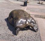 Bronzeskulptur in Malcesine