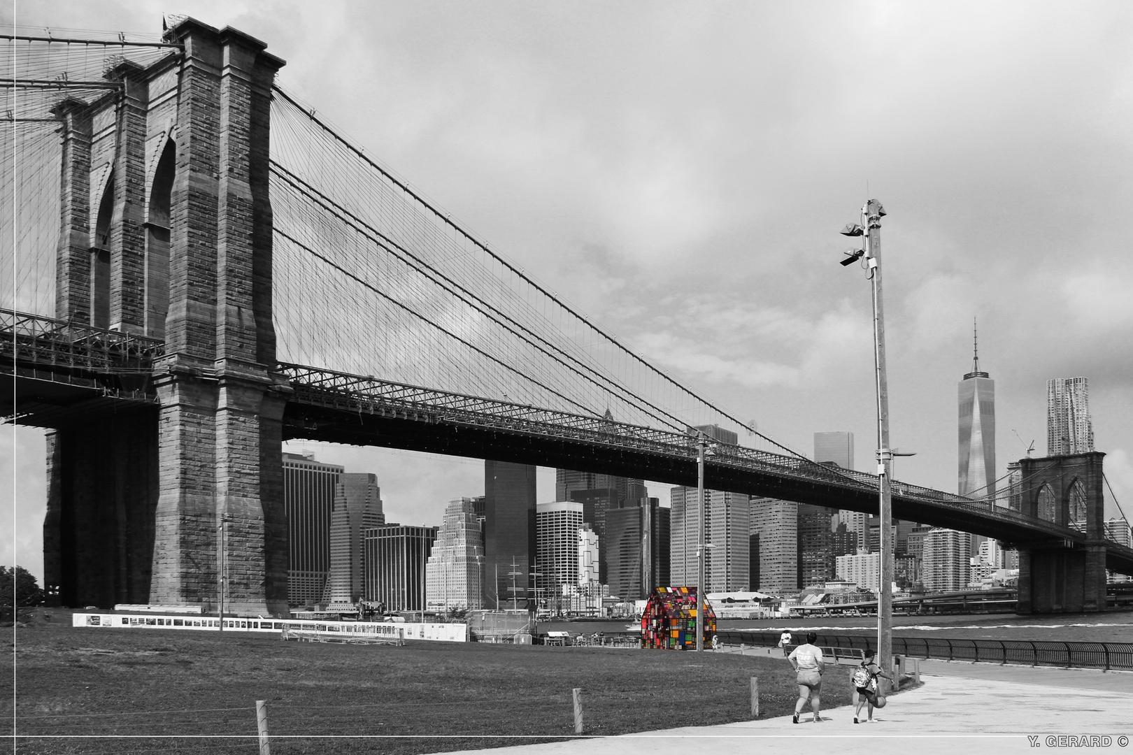 Brooklyn - Attirance colorée