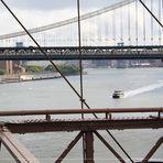 Brooklyn Bridge - East River & Manathan Bridge