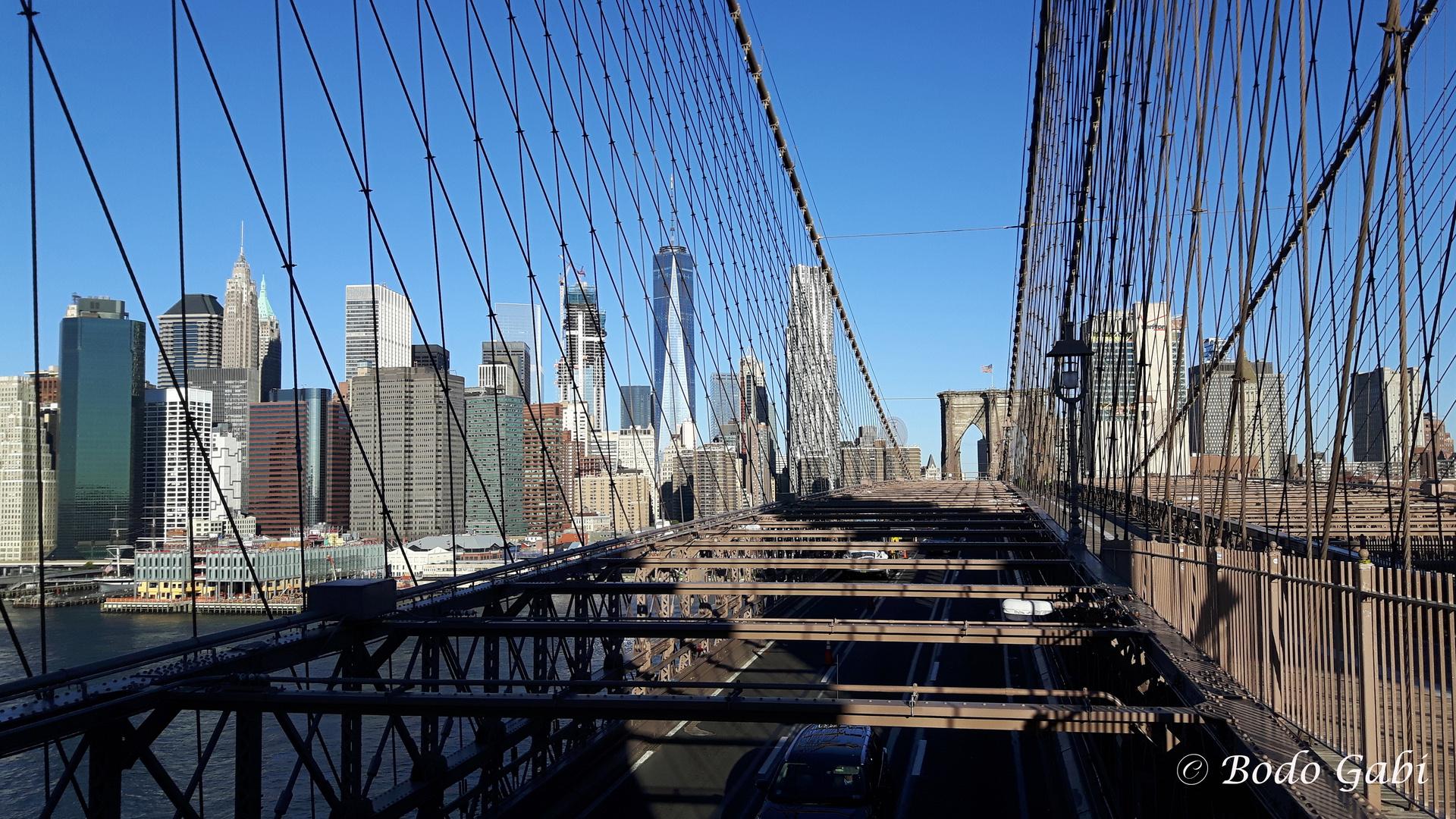 brooklyn bridge ii foto bild nyc br cke new york bilder auf fotocommunity. Black Bedroom Furniture Sets. Home Design Ideas