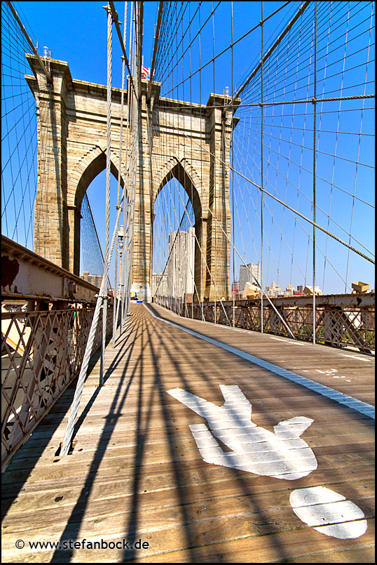 Brooklyn Bridge, New York City Serie XXV