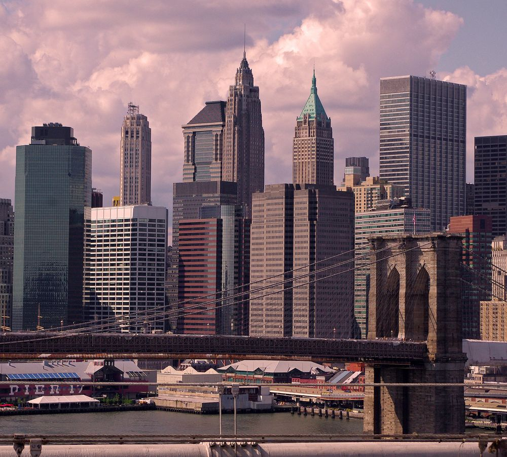 Brooklyn Bridge, New York Manhattan