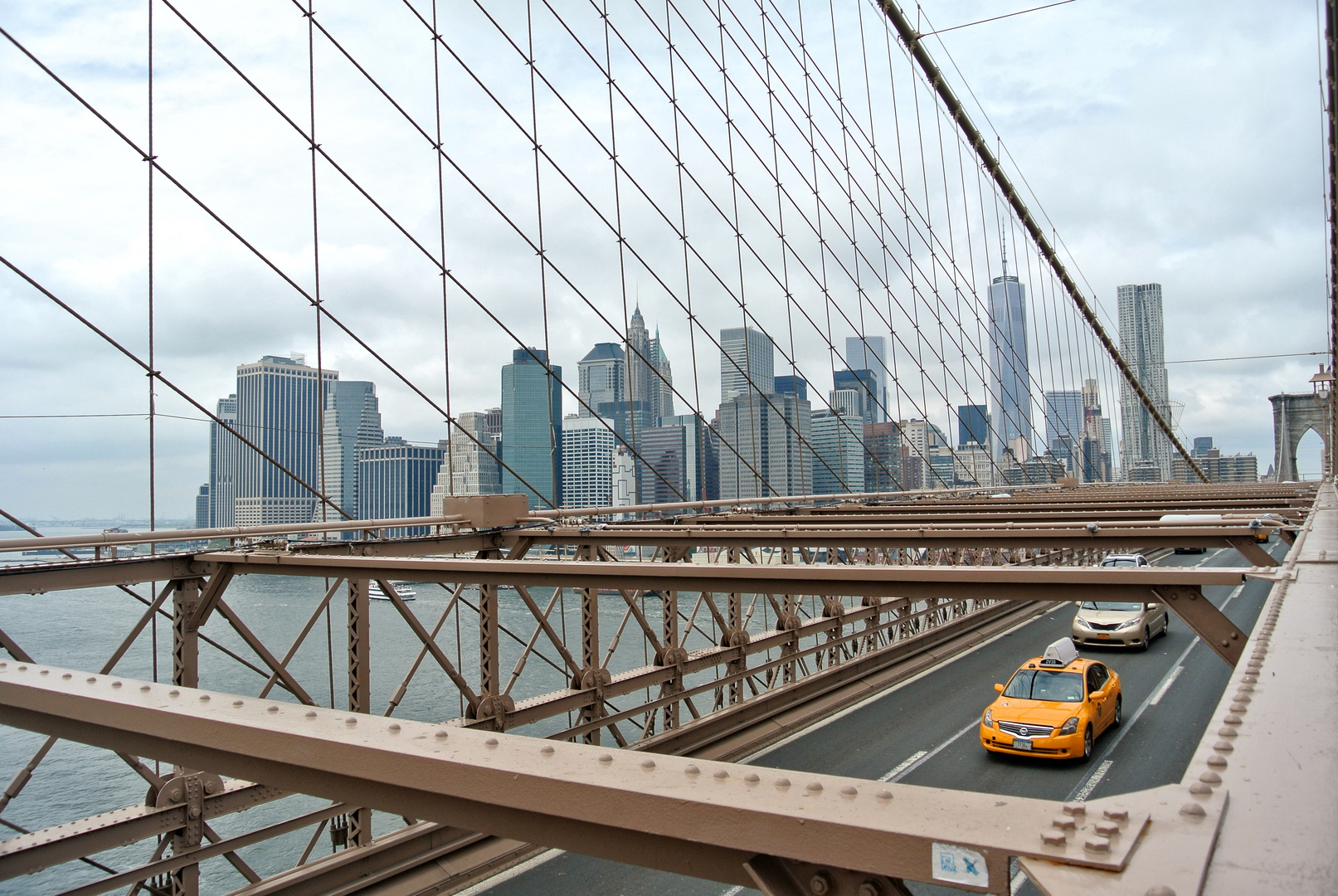 brooklyn bridge taxi