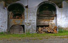 Brot backen mangels Gas und Strom.