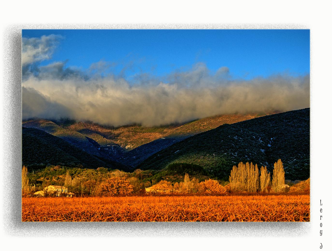 Brouillard sur les collines