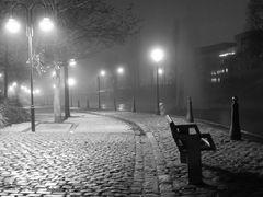 Brouillard sur les quais