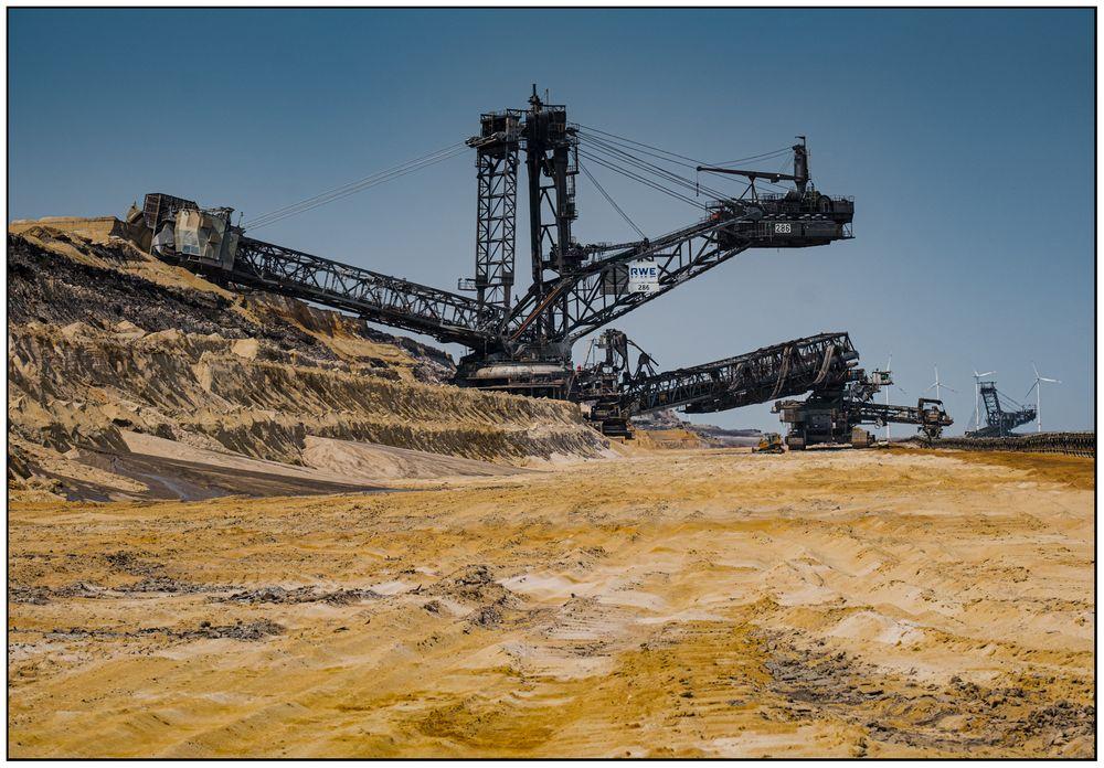"""Browncoal opencast mining """"Inden"""" #3"""