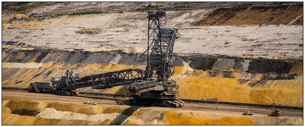 """Browncoal opencast mining """"Inden"""" #7"""