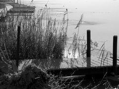 brrrrr - am Ufer des Illmensees