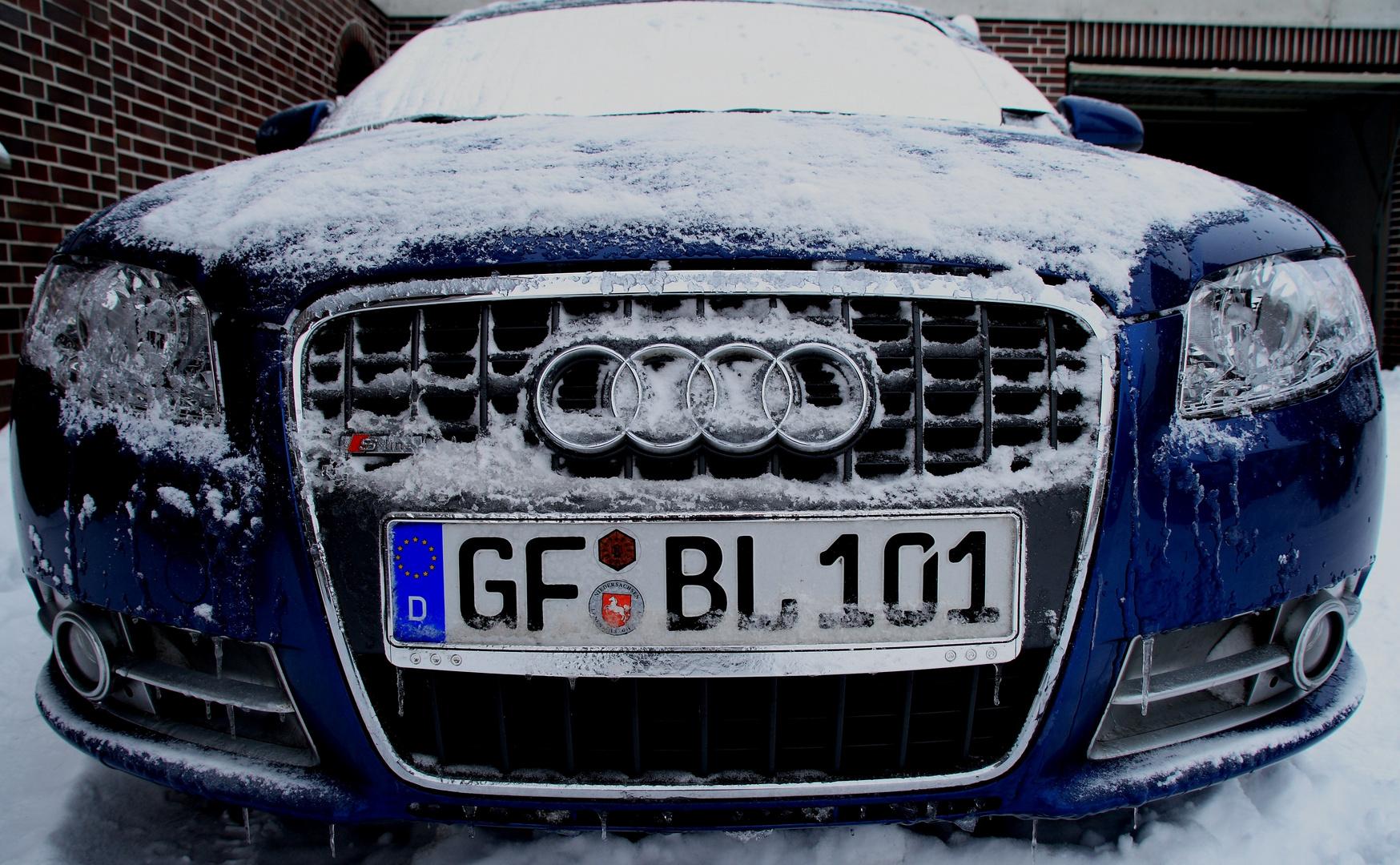 Brrrrrrrr .............ist Mir kalt !