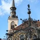 Bruck an der Mur, Eisener Brunnen mit Kirche