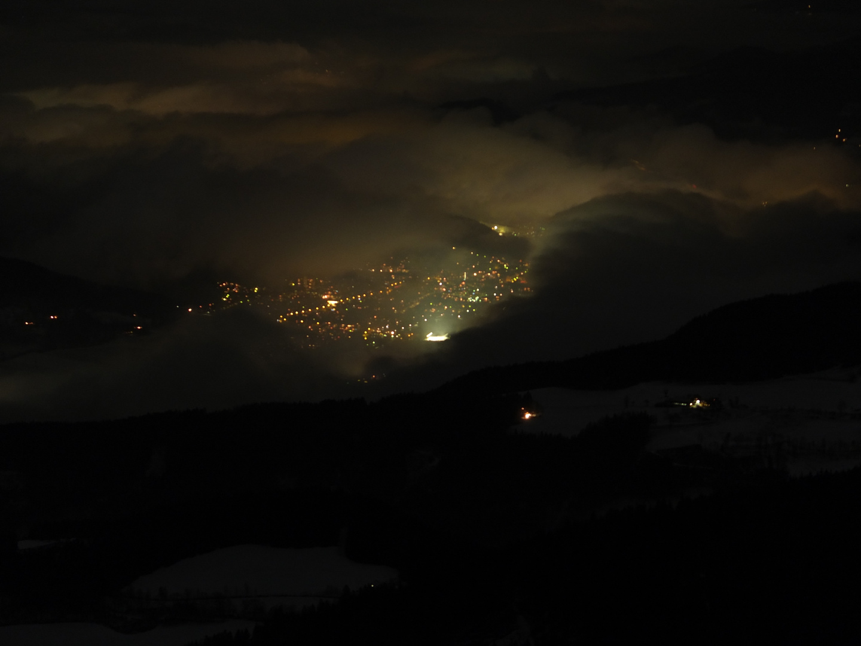Bruck/Mur bei Nacht