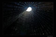 Bruder-Klaus-Feldkapelle, Blick nach oben...