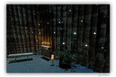 Bruder-Klaus-Feldkapelle-Innenansicht