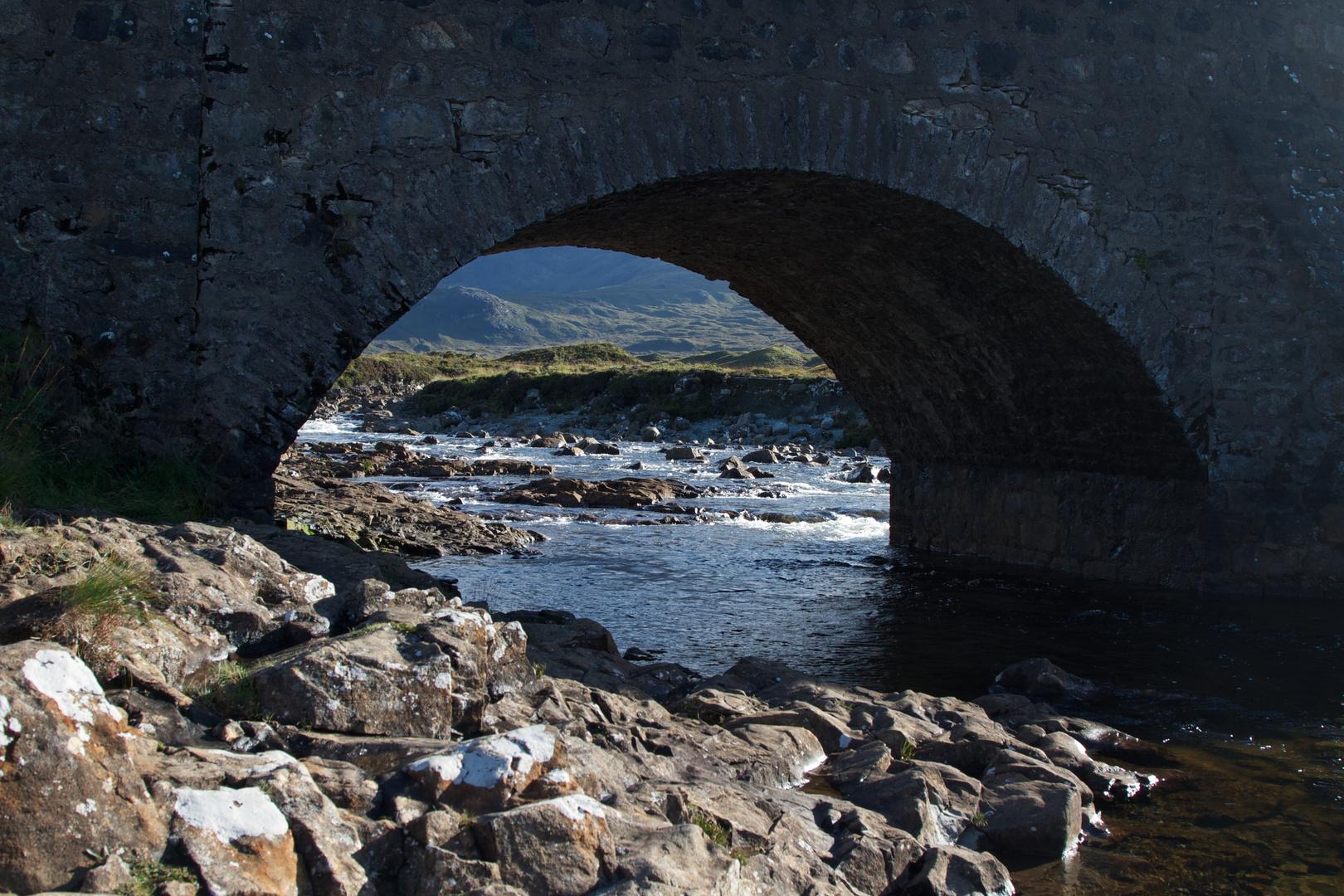 Brücke am Fluß