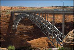 Brücke am Glen Dam - Page Arizona - Lake Powell