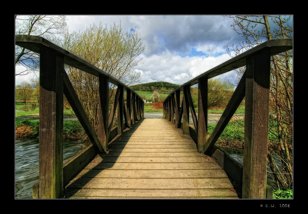 Brücke am Hammerweiher
