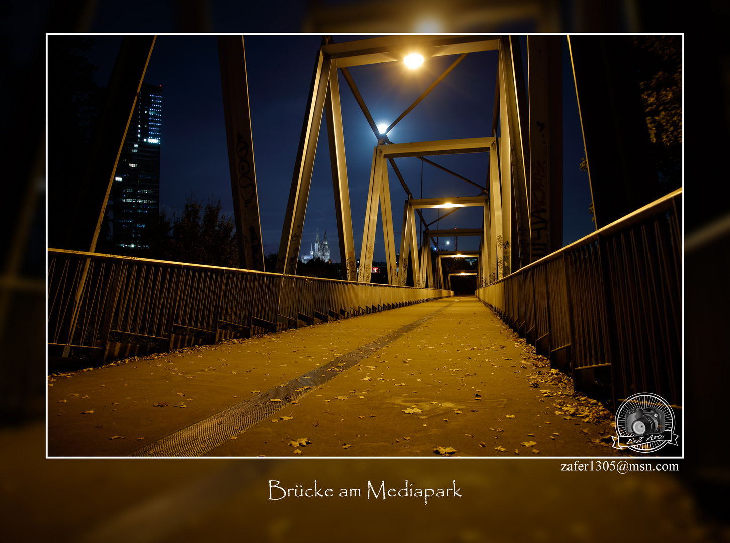 Brücke am Mediapark
