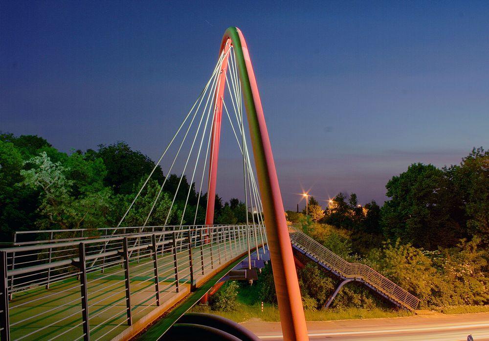 Brücke am TZU in Oberhausen