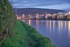 Brücke Am Wehrsteg über den Neckar in Heidelberg