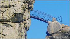 Brücke an den Externsteinen