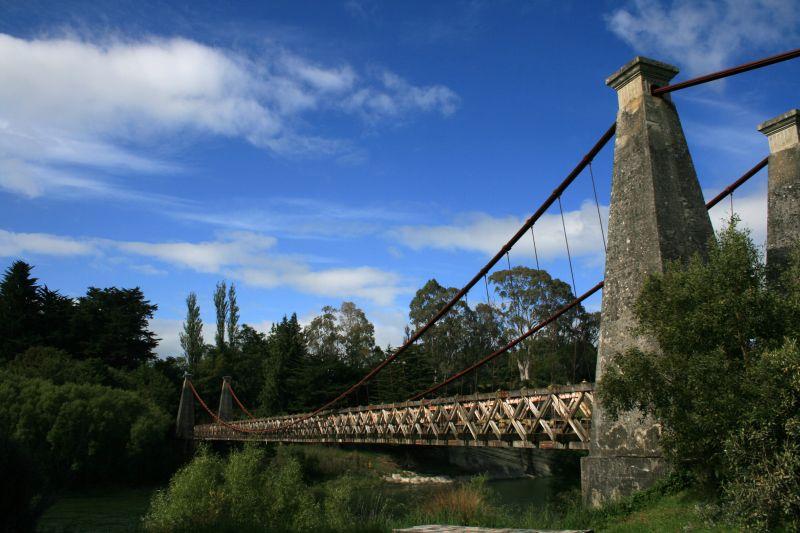 Brücke an der Scenic Route