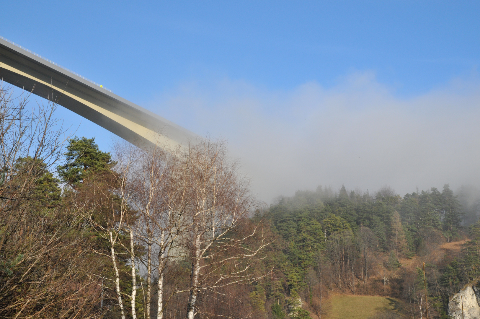 Brücke aus dem nichts