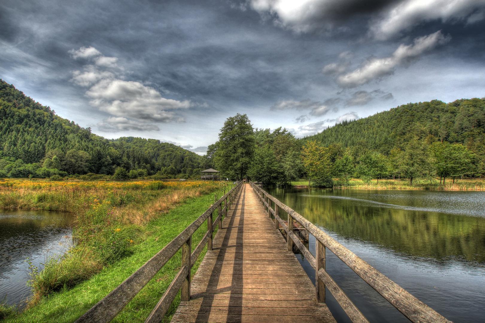 Brücke bei Fischbach/Pfalz