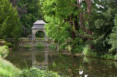 Brücke bei Schloss Dyck