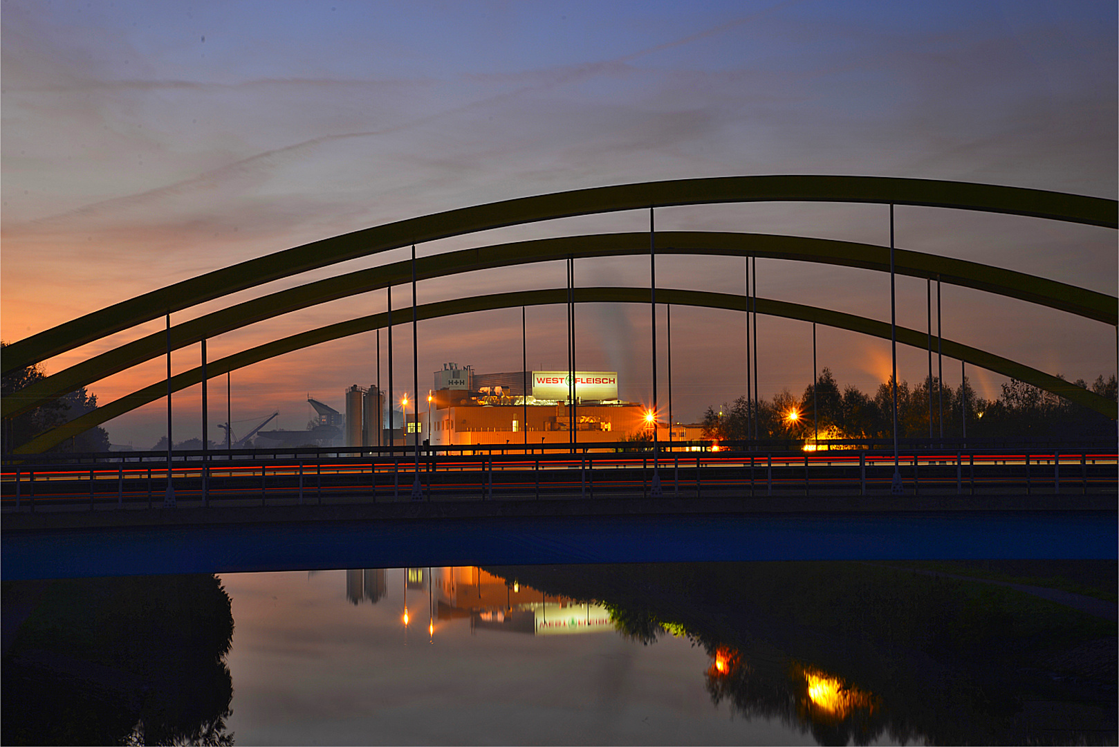 Brücke der A2 bei Uentrop