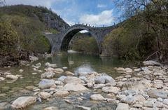 Brücke der Zagoria